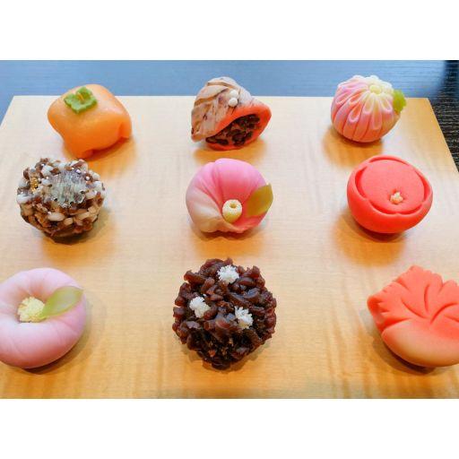 季節の上生菓子セット6個セット-0