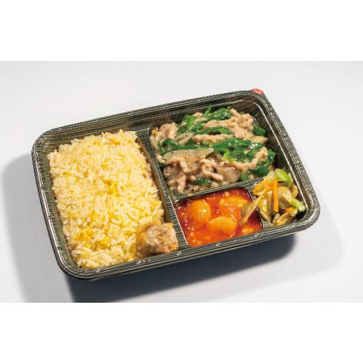 胡同の日替り炒飯御弁当-0
