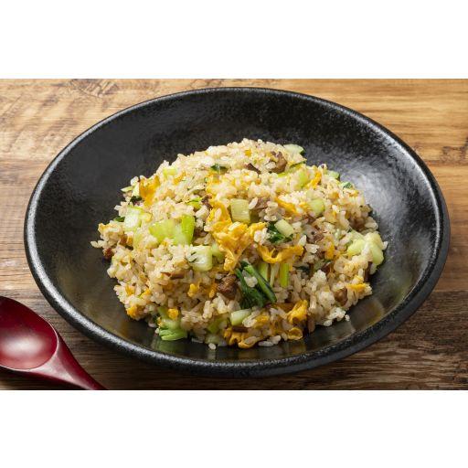 叉焼入り青菜炒飯-0