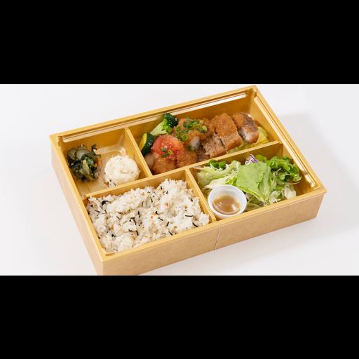麦富士豚のすりおろし野菜ソース弁当-0