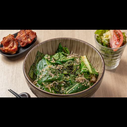 新鮮小松菜丼-0