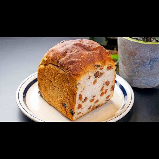 ぎっしりレーズン食パン-0