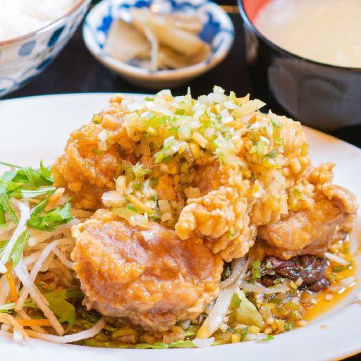 油淋鶏定食-0