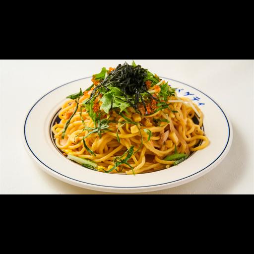 鮭とコーンのバター醤油炒めスパゲティ-0