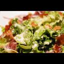 【ディナー限定】生ハム&燻製ブリーチーズ&燻製クルミのサラダ-thumb-0