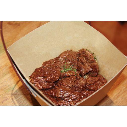 牛赤身肉のステーキライスボックス