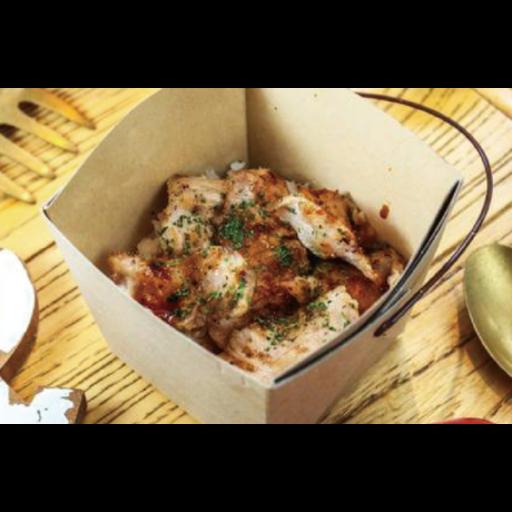 豚トロ肉のライスボックス