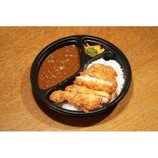 【ディナー限定】チキンカツ&辛いカレー※前日18時までのご注文