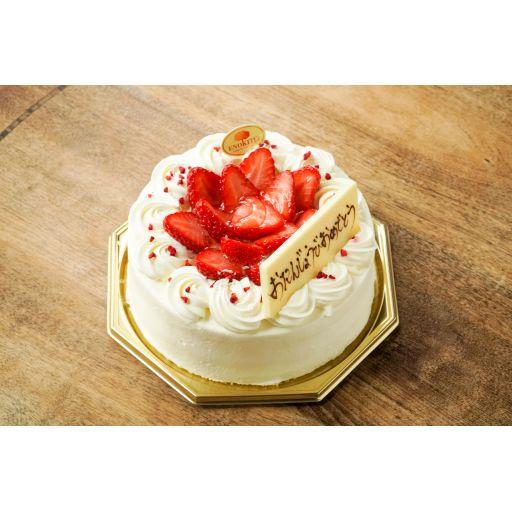 季節のショートケーキ(6号/18cm 6~8名)※3日前15:00までの予約商品