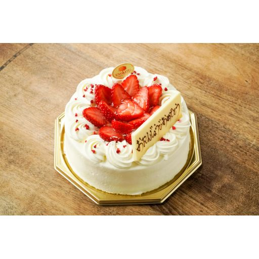 季節のショートケーキ(5号/15cm 4~6名)※3日前15:00までの予約商品