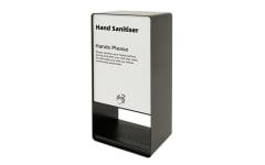 Black Pass Through Hand Sanitiser Dispenser