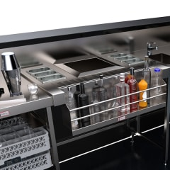 Simply Stainless Cocktail Station with Speed Rack SBM.CS
