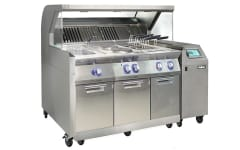 Halton Mobichef mobile cooking station with Capture Jet technology