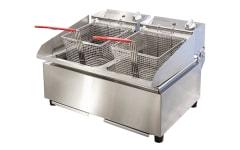 Woodson Twin Pan Countertop Fryer