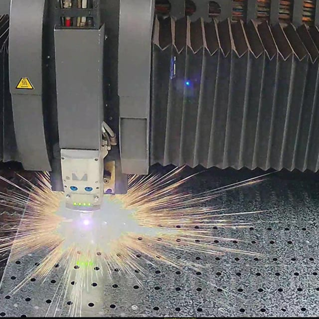 Laser Cutting Services - Metal Processing