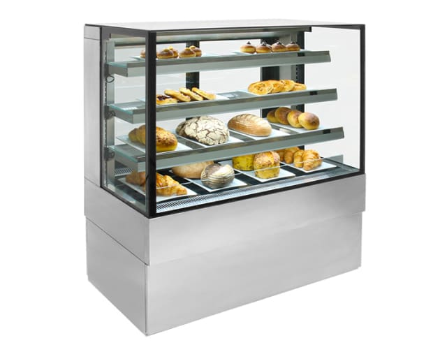 Airex Freestanding Ambient Square Food Display  AXA.FDFSSQ