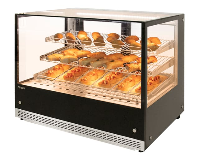 Airex Countertop Heated Square Food Display AXH.FDCTSQ