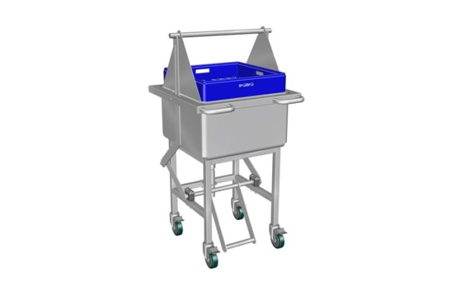 Culinaire Assisted Lift Cutlery Soak Sink CD.SSAL.300.900