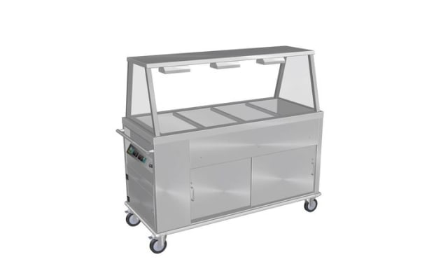 Culinaire Mobile Bain Marie Hot Cupboard with A Frame Gantry