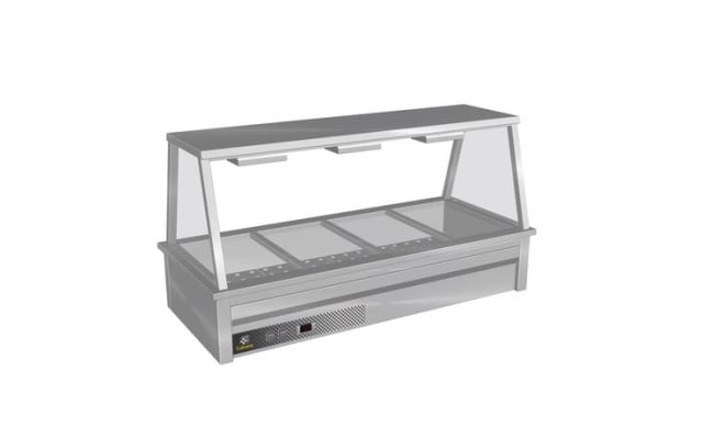 Culinaire Drop In Bain Marie with A Frame Gantry