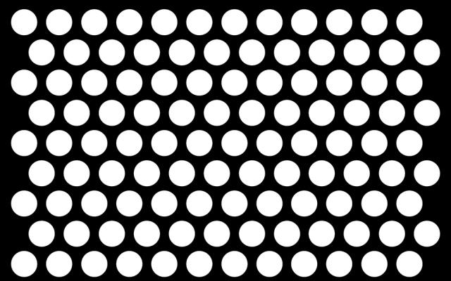 PerfArt Standard Round Pattern PM.RD.ST.071.51