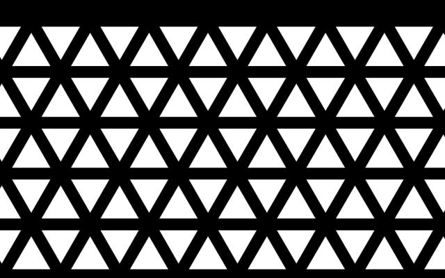 PerfArt Standard Triangle Pattern PM.TR.SQ.127.42