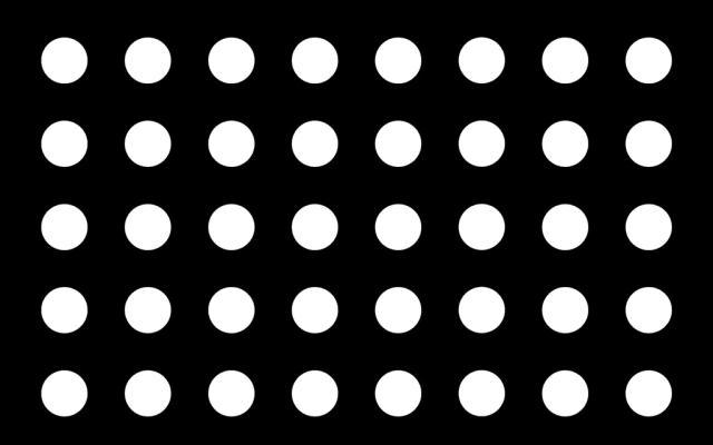 PerfArt Standard Round Pattern PM.RD.SQ.080.24