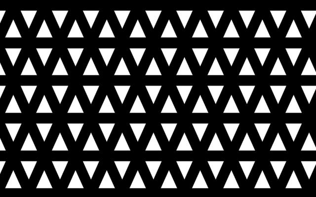 PerfArt Standard Triangle Pattern PM.TR.SQ.075.24