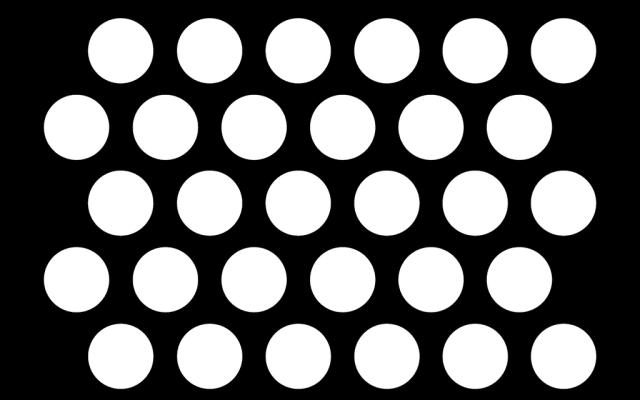 PerfArt Standard Round Pattern PM.RD.ST.127.49