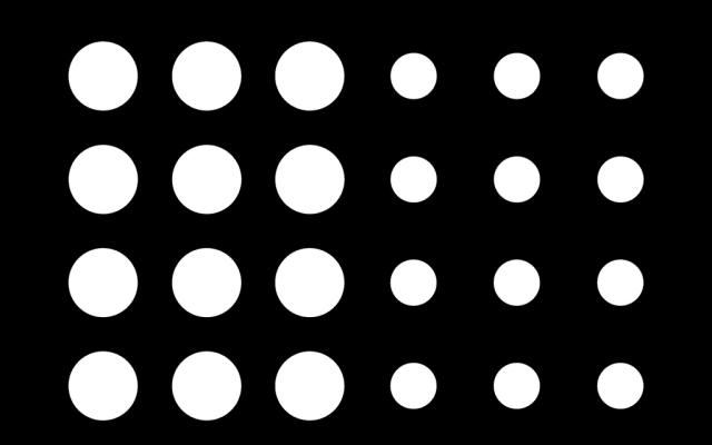 PerfArt Standard Round Pattern PM.R12.29