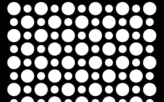 PerfArt Standard Round Pattern PM.R9.50