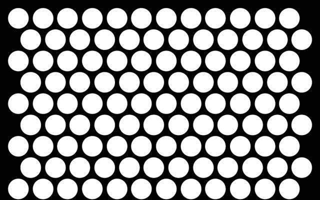 PerfArt Standard Round Pattern PM.RD.ST.079.62