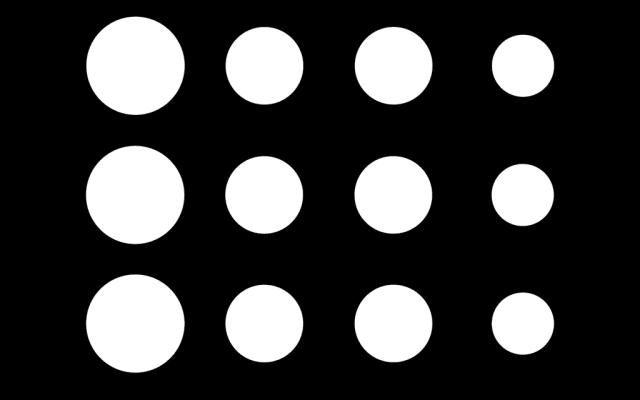 PerfArt Standard Round Pattern PM.R8.30
