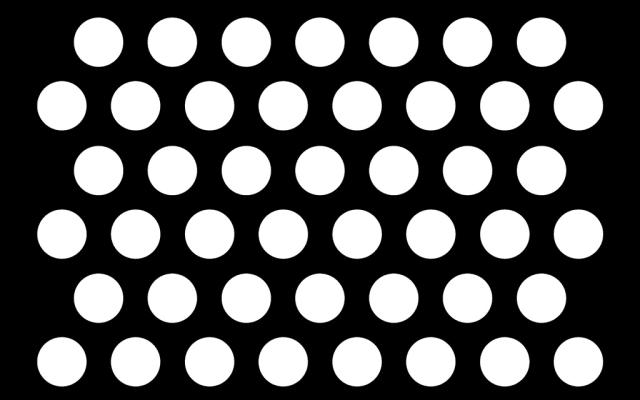 PerfArt Standard Round Pattern PM.RD.ST.095.40