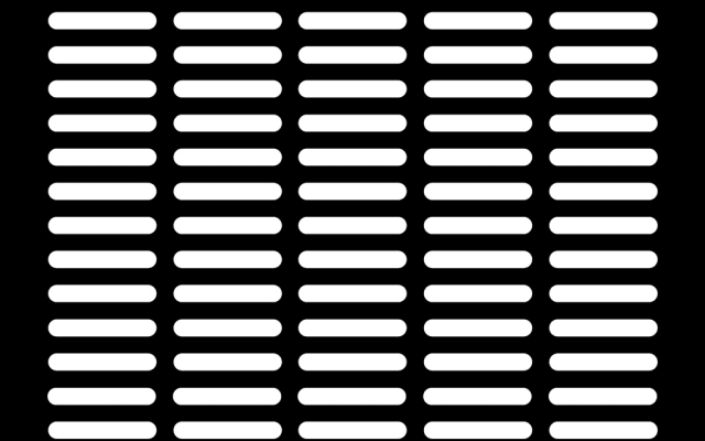 PerfArt Standard Obround Pattern PM.OB.SQH.190030.42