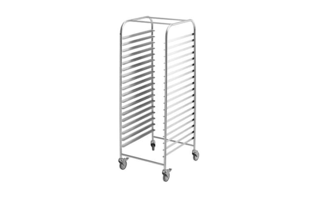 Simply Stainless Mobile Gastronorm Trolley SS16