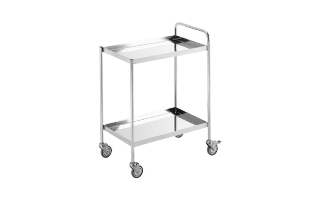 Simply Stainless Two Tier Trolley SS14