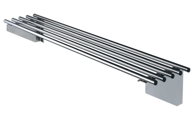 Simply Stainless Pipe Wall Shelf SS11