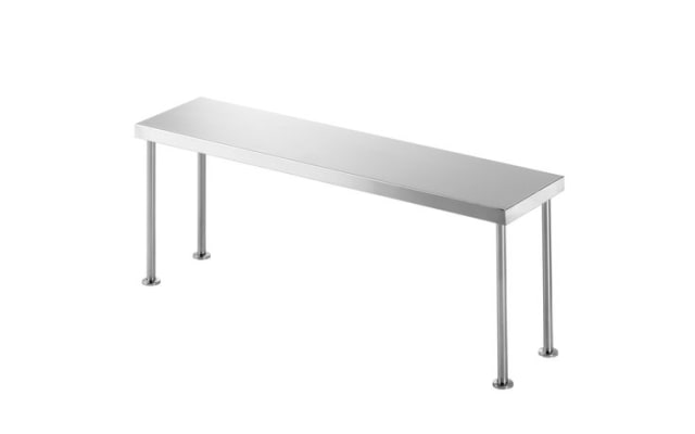 Simply Stainless Bench Over Shelf SS12