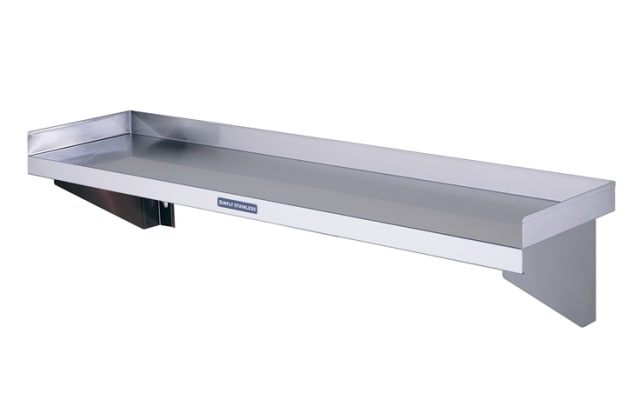 Simply Stainless Wall Shelf SS10