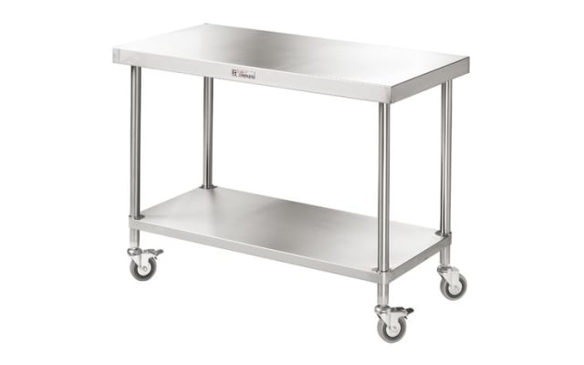 Simply Stainless Mobile Work Bench SS03