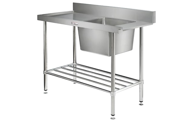 Simply Stainless Dishwasher Inlet Bench SS08