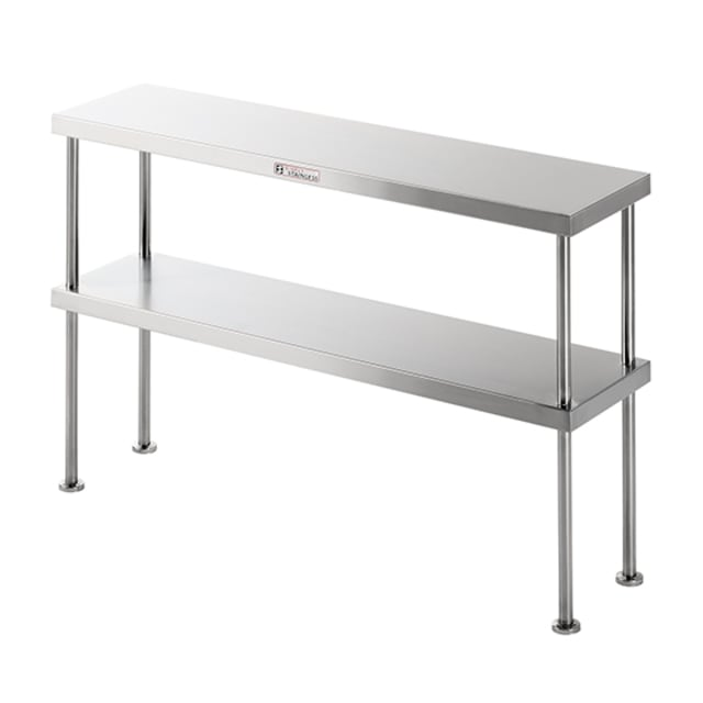 Simply Stainless Double Bench Over Shelf SS13