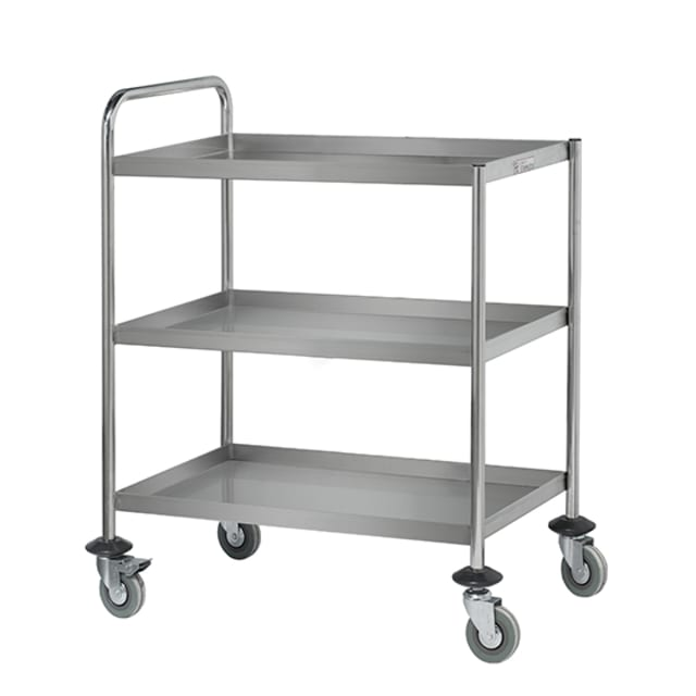 Simply Stainless Three Tier Trolley SS15