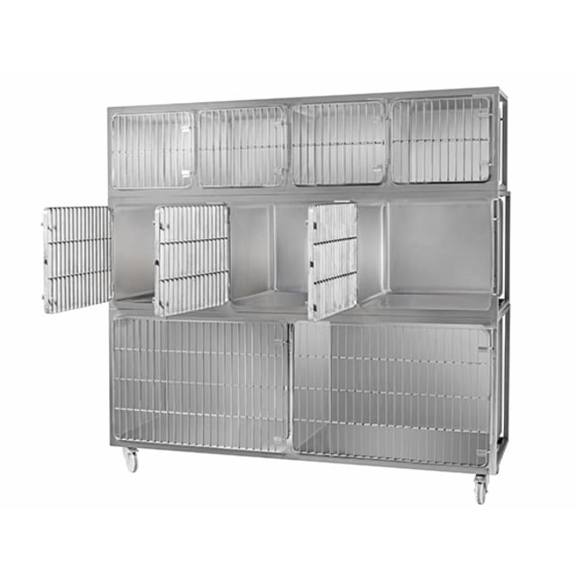 Simply Stainless Pet Cage Vet Cage SS30