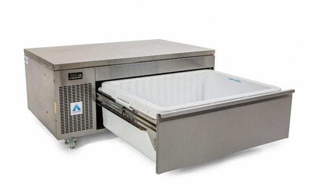 Adande Single Slimline Dual Temperature Drawer VLS1