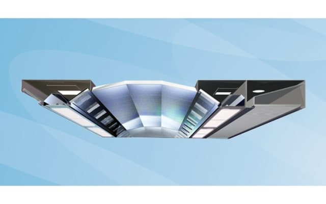 Halton UCJ Capture Ray Ventilated Ceiling with Capture Jets & UV Technology