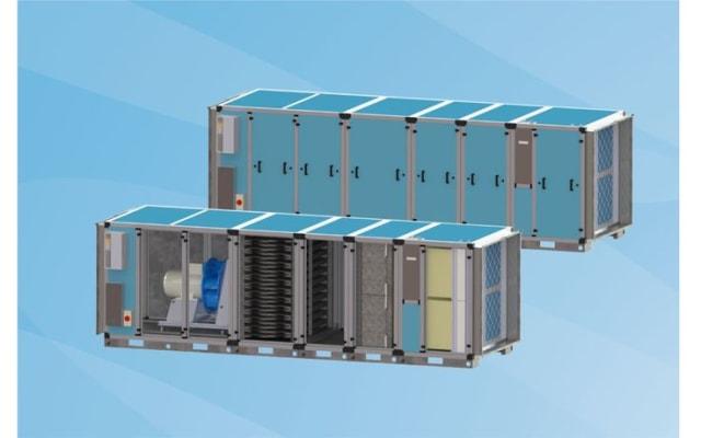 Halton Pollustop Advanced Air Treatment Unit (Modular)