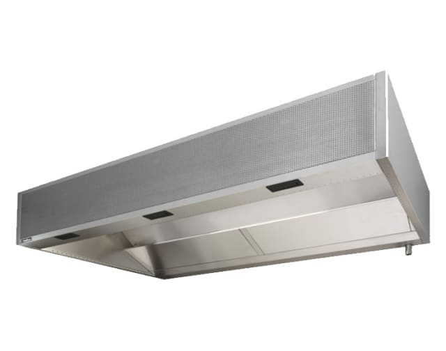 Halton KWF Cold Mist & Wash Filter Hood with UL1046 classified filters and Capture Jet Technology
