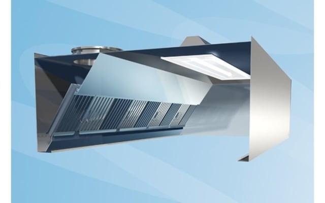 Halton KVX Extraction Canopy